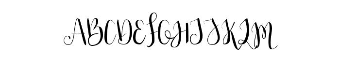 Julias Dream Font UPPERCASE