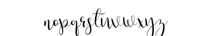 Julias Dream Font LOWERCASE