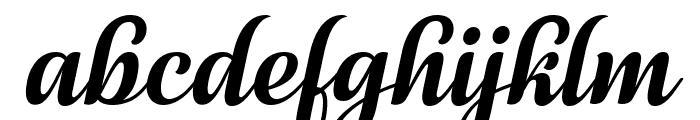 July Seventh Italic Font LOWERCASE