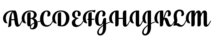 July Seventh Font UPPERCASE