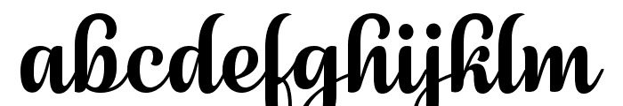 July Seventh Font LOWERCASE