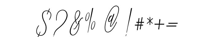 Jummiten Font OTHER CHARS