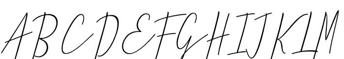 Jummiten Font UPPERCASE