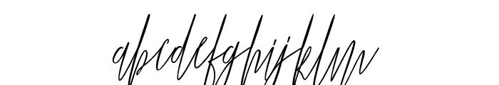 Jummiten Font LOWERCASE