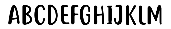 Just tell me what Font UPPERCASE