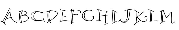 K26Argento Font UPPERCASE