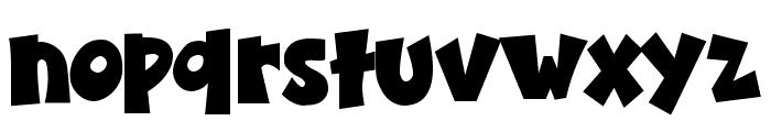 K26BubbleBallou Font LOWERCASE