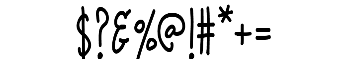 K26Infinitus Font OTHER CHARS
