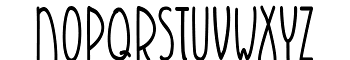 K26Infinitus Font UPPERCASE