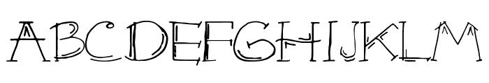 KAZE Font UPPERCASE