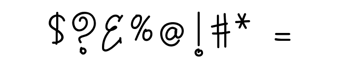 KB3SugarplumSwirls Font OTHER CHARS
