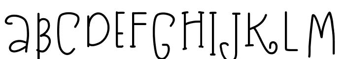 KB3SugarplumSwirls Font UPPERCASE