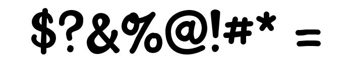 KH-Delightful-Dog Medium Font OTHER CHARS
