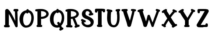 KH-Delightful-Dog Medium Font UPPERCASE