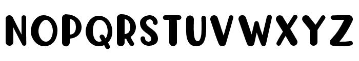 KH-Prince-Rollick Complete Font UPPERCASE