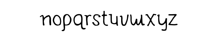 KINGDOM STORIA Font LOWERCASE