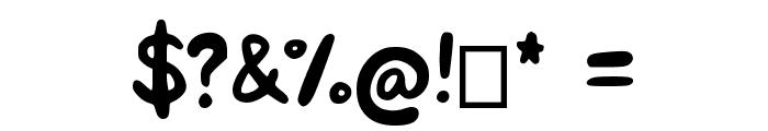 KREMA Font OTHER CHARS