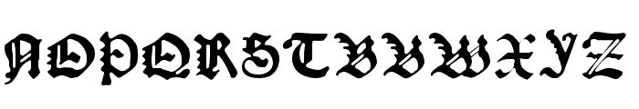 Kachelofen Light Font UPPERCASE