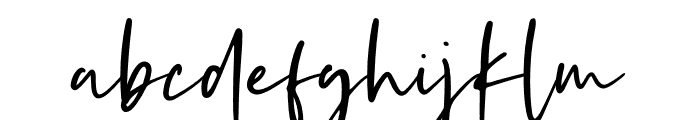 Kaileigh 2 Font LOWERCASE