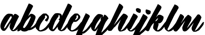 KalimatScript Font LOWERCASE