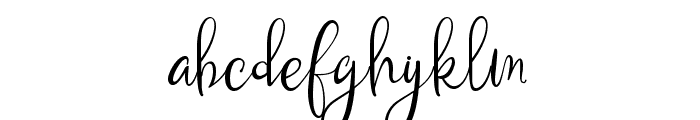 Kalimatasa Font LOWERCASE