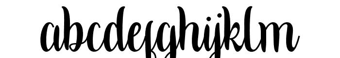 Kalishascript Font LOWERCASE