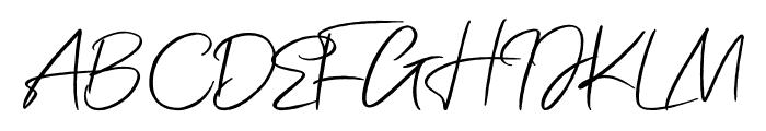 Kamikaze Vector Font UPPERCASE