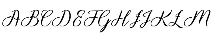 Kamikaze Font UPPERCASE