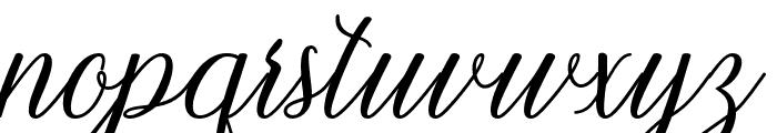 Kamikaze Font LOWERCASE
