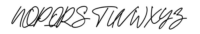 Kamu Cantik Font UPPERCASE