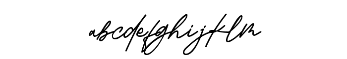 Kamu Cantik Font LOWERCASE