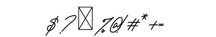 KamuCantikRegular Font OTHER CHARS