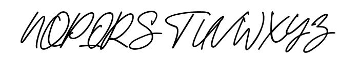 KamuCantikRegular Font UPPERCASE