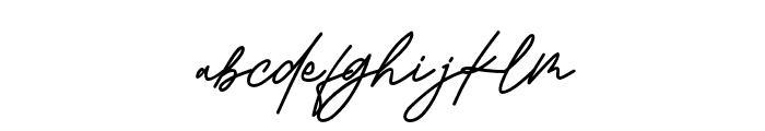 KamuCantikRegular Font LOWERCASE