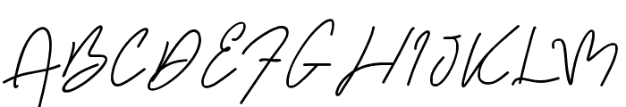 Kanitia Font UPPERCASE