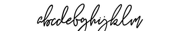 Kanitia Font LOWERCASE