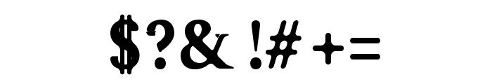 Karoll-BoldRound Font OTHER CHARS