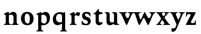 Karoll-BoldRound Font LOWERCASE