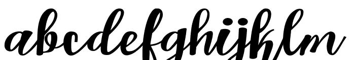 Kastella script Font LOWERCASE
