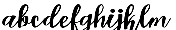 Kastellascript Font LOWERCASE