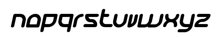 Katarzyna Bold Italic Font LOWERCASE