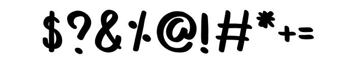 Kawaii Font OTHER CHARS