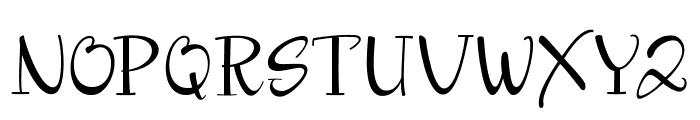 Kayleight Sans Font UPPERCASE