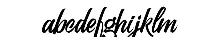 Kelium-Normal Font LOWERCASE