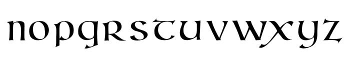 Kells Book Font LOWERCASE