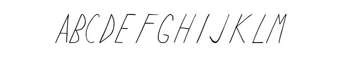 Keyf Light Font LOWERCASE