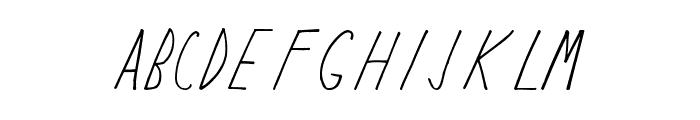 Keyf Medium Font UPPERCASE