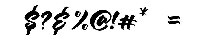 Keyline-Regular Font OTHER CHARS