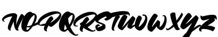 Keyline-Regular Font UPPERCASE