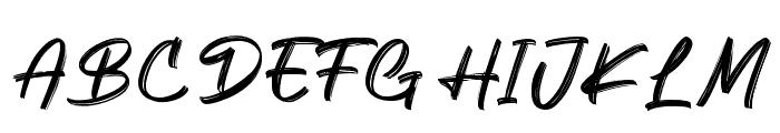 Keypass Font UPPERCASE